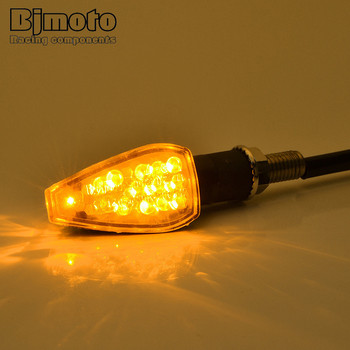 New Universal Motorcycle LED Turn Signal Lights Indicator Amber Blinker Motorbike Lamp Arrow lighting 10 Pairs Moto Lights