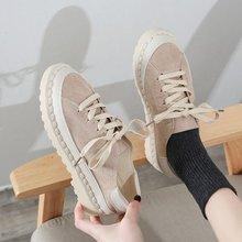 2019 zapatillas de deporte blancas de moda Retro plataforma zapatillas de correr para mujer Otoño Invierno calzado transpirable zapatillas de mujer N3-11