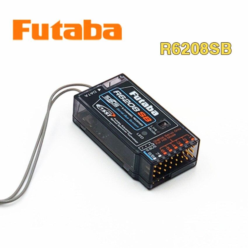 Futaba Original R6208SB 8 canales 2,4 GHz FASST alto voltaje Rx 8FG Super receptor para juguete eléctrico de control remoto aérea modelo-in Partes y accesorios from Juguetes y pasatiempos    2