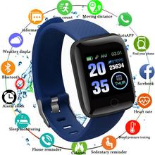 Bluetooth D13 Smart Watches 116 Plus Heart Rate Sports Smart Band Waterproof Wristband Smartwatch With i7 or i7s Tws Earphone
