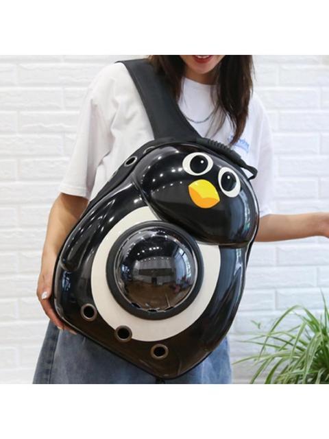 Фото милый легкий прозрачный рюкзак переноска для домашних животных