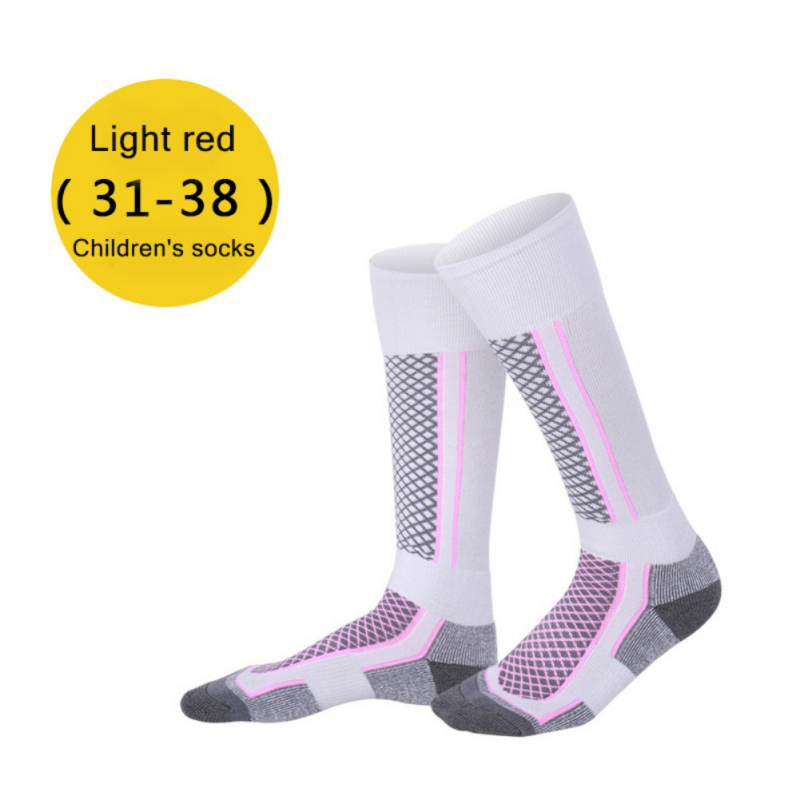 Children Kid Winter Thermal Ski Socks Outdoor Thicken Cotton Warm Stocking Socks