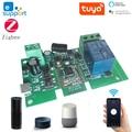 DC5-32v Ewelink ZigBee модуль реле дистанционного Управление светильник переключатель работы с Alexa Google Home Sonoff/Tuya Smart Hub шлюз мост