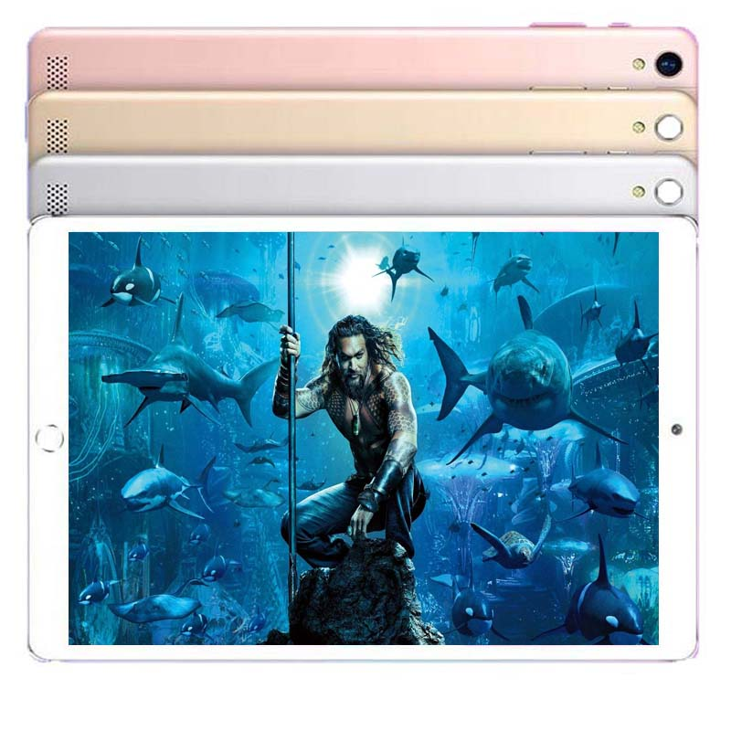 2020 10 Inch Tablet PC 6GB RAM 128GB ROM Android 8.0 10 Core Dual Cameras 5.0MP 1280*800 IPS 4G Phone Tablets