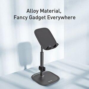 Image 5 - Baseus Einstellbare Handy Halter Für iPhone 12 11 Pro Max XS Teleskop Desktop Halterung Tablet Ständer Für Samsung Huawei