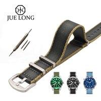 Новый дизайн Рождество серый хаки нейлоновый ремешок для часов Омега Ролекс часы ремень безопасности Nato ремешок 22 мм