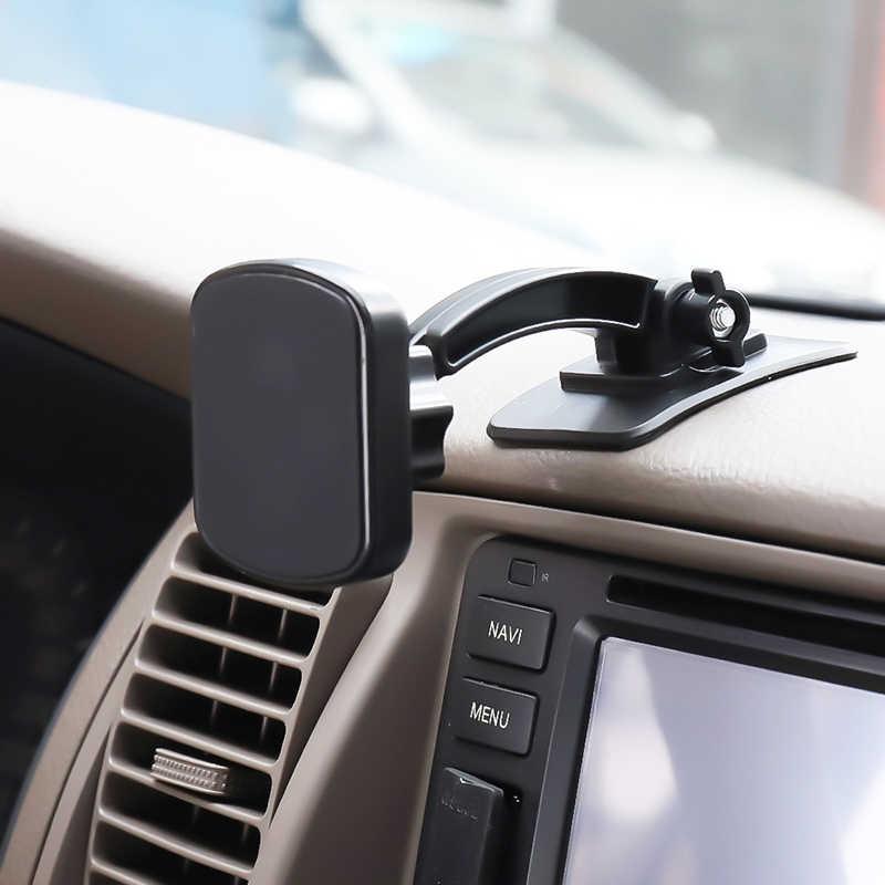360° Rotation Car Auto Magnetic Mount Holder Bracket For Mobile Phone GPS Navi