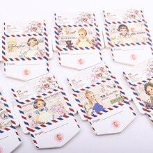 1 упаковка) конверт Липкие заметки 35 листов милая девочка серия заметок канцелярские принадлежности Школьные запасы этикеток(dd-1757