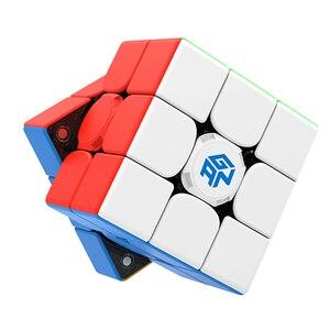 Оригинальный GAN 356 i play 3x3 кубик рубик интеллектуальный Магнитный пазл волшебный куб Ган gan 3x3 кубик рубика куб приложение Смарт куб игрушки дл...