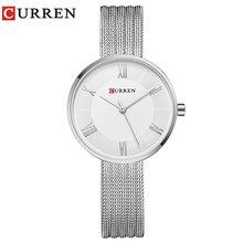 цены Carrian 9020 New Ladies Watch Business Watch Fashion Watch Net Belt Watch Waterproof Watch Quartz Watch