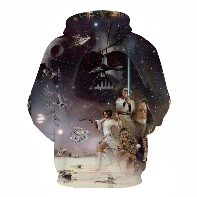 3D Printed Star Wars Hoodies Men&Women 24