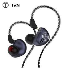 Trn v90 fones de ouvido 4ba 1dd metal unidades híbridas hifi bass fones de ouvido monitor fones de ouvido com cancelamento de ruído trn m10 vx v80 mt1