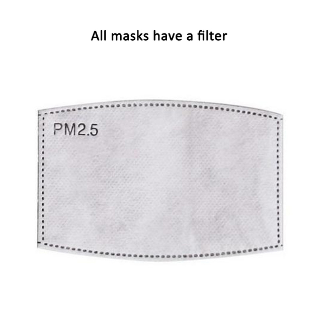 Adult/Child Cotton PM2.5 Anti Flu Haze Mask Breath Valve Anti-dust Face Mask Activated Carbon Filter Respirator Mouth-muffle 4