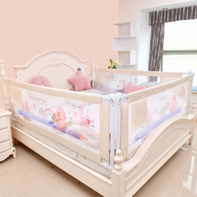 foldable child safety barrier baby fence playpen bed rails fencing gate playground for kids railing for children bed side bumper | Happy Baby Mama