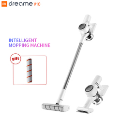 Dreame V10 Handheld Vacuum Cleaner For Home Mijia Portable Wireless Cordless Carpet Vacuum Update V9P Dust Collector Sweep Mop
