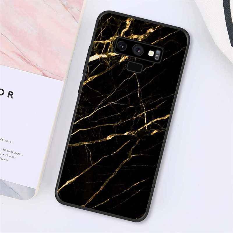 Babaite Biru Pink Ungu Batu Permata Batu Akik Kristal Marmer Phone Case untuk Samsung Galaxy A50 Note9 8 7 5 10 Pro j5 J6 Prime J7 Duo