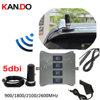 car use 2G 3G 4G booster 900 1800 2100 2600mhz Phone Booster Mobile Signal Amplifier 2G 3G 4G LTE Repeater GSM DCS WCDMA 4G LTE