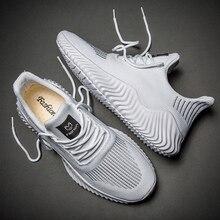 Men Shoes 2021 Breathable White Trendy Sneakers Men Original Casual Light Walking Big Size Man Tennis Shoe Zapatillas Hombre