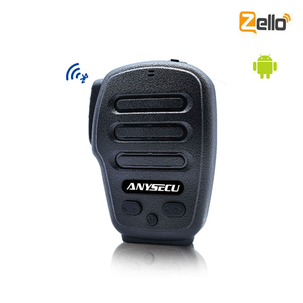 Anysecu wireless Microphone B03 for POC Radios F25 F22 A18 A17 7S+ T320 4G-W2PLUS 3G 4G network radio Zello Android Phone Radio