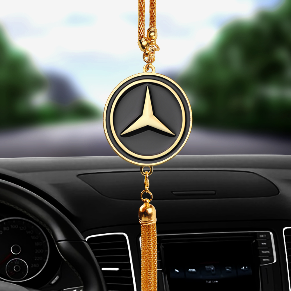 Car Hanging Pendant Automobiles Ornaments For Mercedes Benz AMG CLK CLA GLK GLE GLC A B C E S Class Interior Decorative