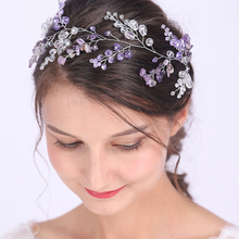 Hair-Jewelry Blessing Bridesmaid Gift Wedding Elegant Bridal Banquet Crystal for Women