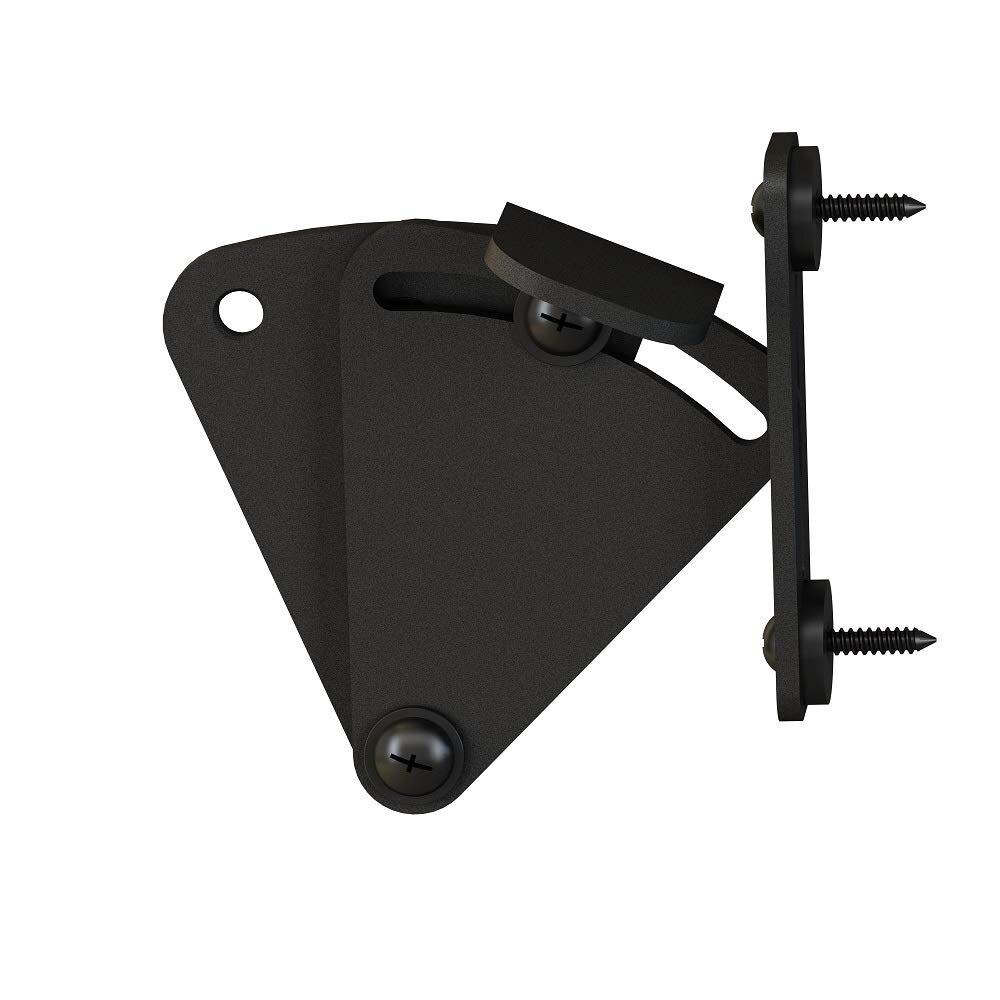 Matte Black Pocket Door Latch Lock Shed Door Privacy Lock Sliding Barn Door Hardware