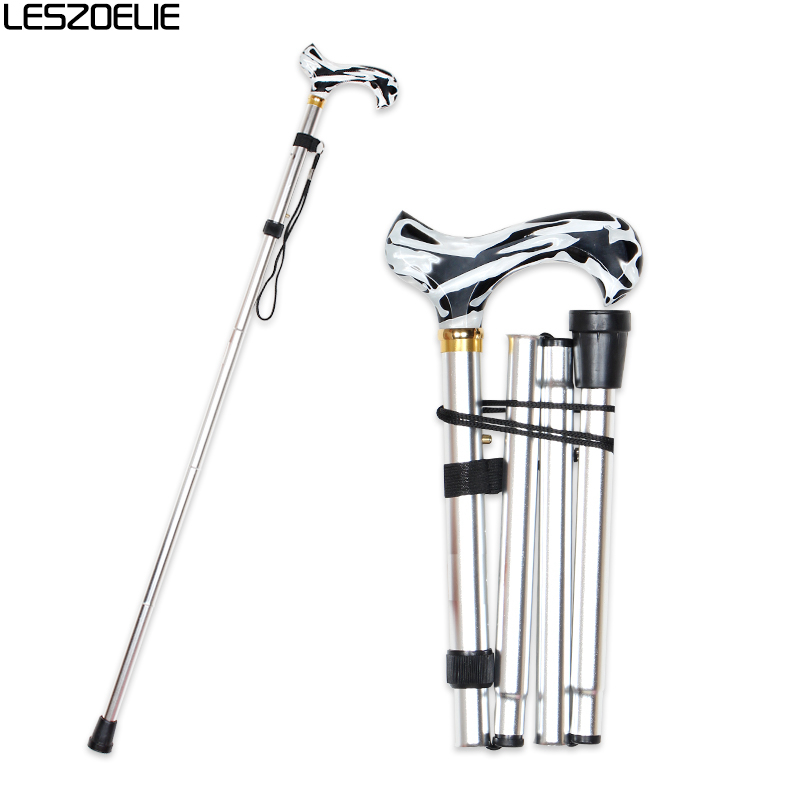 Adjustable Walking Stick Canes For 2020 Luxury Fashion Men And Women Decorative Cane Walking Stick Aluminum Alloy Walking Cane