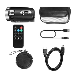 2.7K / 30 Megapixel HD Digital Video Camera WIFI Night Vision DV Home Travel Camera Video Recorder