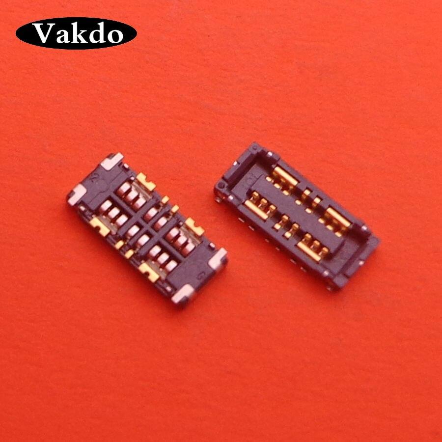 1-5 sztuk wewnętrzne złącze FPC uchwyt baterii klip kontakt na płycie głównej dla ASUS Zenfone 4 MAX ZC554KL