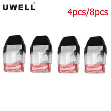 4PCS-8PCS Uwell Caliburn KOKO 2mL Cartridge with 1.2ohm Pod Coil Atomizer for E Cigarette Uwell Caliburn KOKO Pod Caliburn Vape(China)
