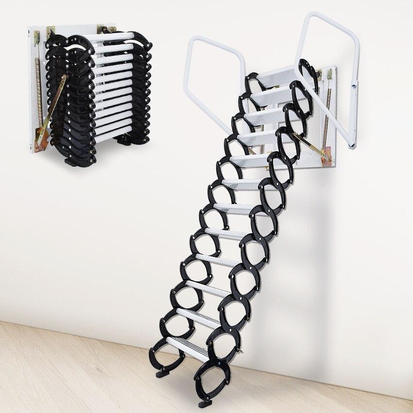 Домашний набор инструментов, наружная настенная выдвижная лестница, ручная складная лестница, портативная телескопическая лестница 2,5 3 м,