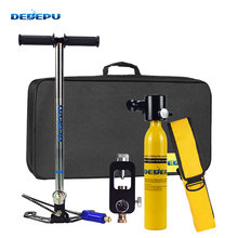 Набор из кислородной бутылки dedepu 05 л оборудование для плавания