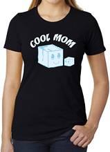 Крутая футболка для мам Забавные футболки с графическим рисунком