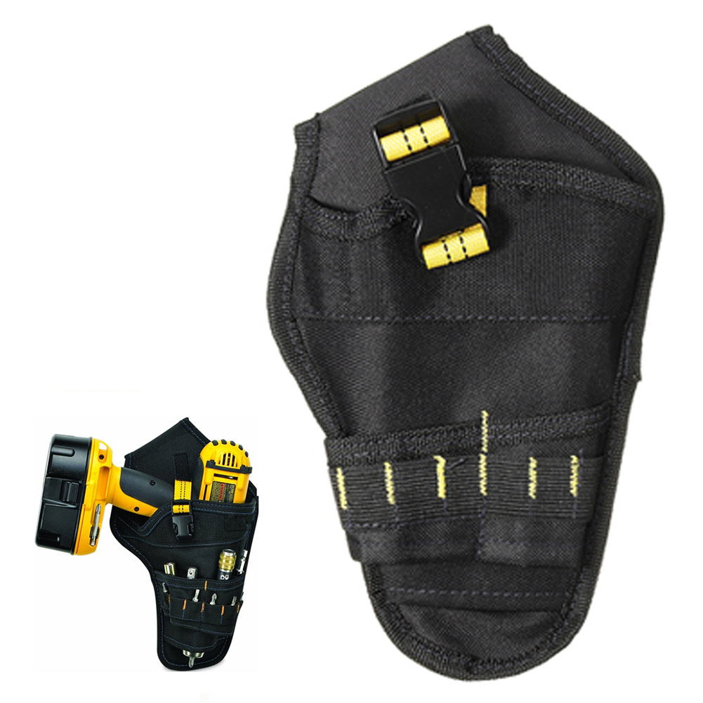 Multifunctional Tool Bags Portable Electrician Tool Waist Belt Pouch Bag Oxford Cloth Drill Holder Tool Bag Hardware Organizer