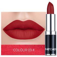 Pintalabios maquillaje profesional mate pintalabios impermeable de larga duración labios con brillo Sexy labios rojos pintalabios de terciopelo juego de pintalabios mate