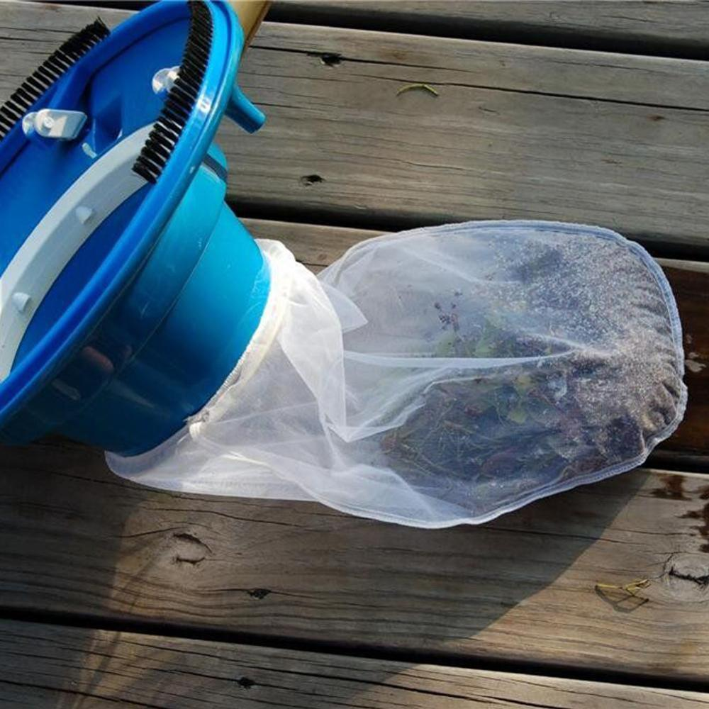 Купить с кэшбэком Swimming Pool Cleaning Vacuum Brush Portable Fountain Vacuum Cleaner Brush Outdoor Bathtub Swimming Pool Cleaning Tool