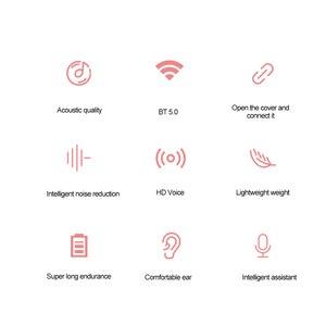 Image 2 - Lenovo X9 Bluetooth 5.0 True Wireless Headphones TWS Earbuds Touch Control Sport Headset Sweatproof In ear Earphones with Mic
