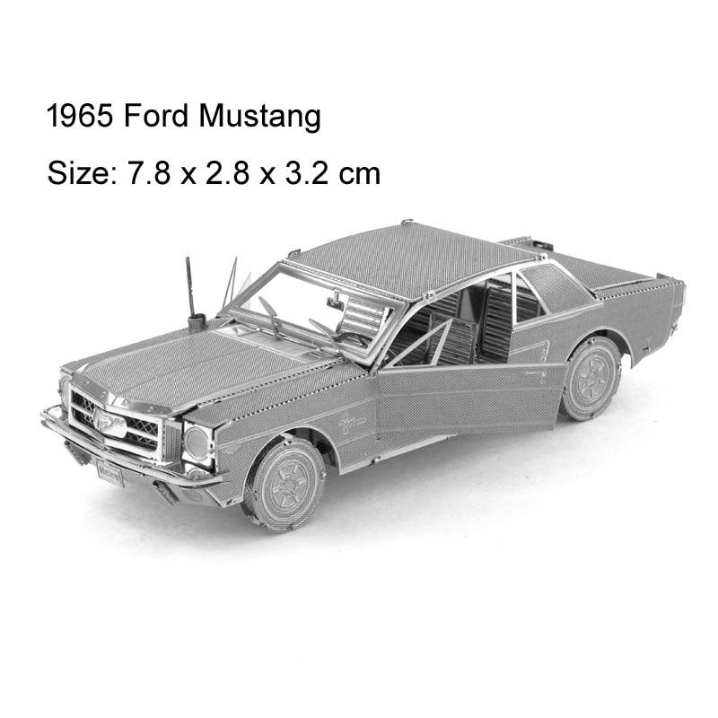 3D Metal Puzzles Assembly Model DIY Puzzle Jigsaw Transportation Taxi  Puzzle Fun Hands-on Fun Upgrade Retro Nostalgic Car