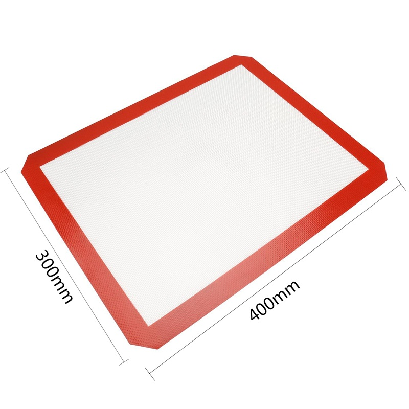 Non-Stick Silicone Baking Mat Pad Sheet Baking pastry tools Rolling Dough Mat Large Sie for Cake Cookie Macaron
