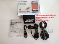 Yatour Car audio AUX Bluetooth Kit for Toyota Lexus Avensis Camry Corolla Highlander RAV4 Avensis Car mp3 Player YTBTK