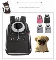 Mochila de viaje al aire libre para mascotas, mochila portátil transpirable de alta calidad, cómoda Correa transpirable para Picnic de gatos