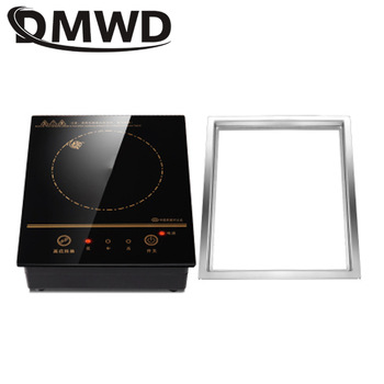 DMWD Mini Electric Magnetic Induction Cooker Wire control Embedded Hotpot Hob Burner Waterproof hot pot Tea Boiler Stove Cooktop induction cooker 15kw high power canteen concave cooker cooktop fry restaurant commercial electric frying stove cooking utensils