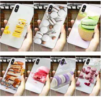 Suave TPU caso Hipster caso para Samsung Galaxy A81 A71 A51 A01 S20 S10 S9 S8 más A50 A70 A40 A30 A20 A10 comida para Macarons de galletas
