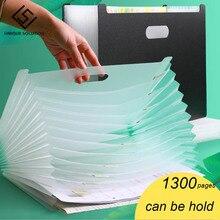 File-Folder Document-Paper Office-Stationery School Desk Organizer Expanding-Box Multilayer