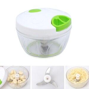New Manual Food Chopper Pull String Shredder Speedy Chopper Processor for Vegetable Fruits Garlic Meat SCI88