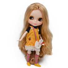 Blyth Doll BJD, Neo Blyth Doll Nude Customized Frosted Face Dolls Can Changed Makeup and Dress DIY, 1/6 Ball Jointed Dolls SO43 long hair blyth doll light golden 1 6 bjd doll blyth dolls diy change toy