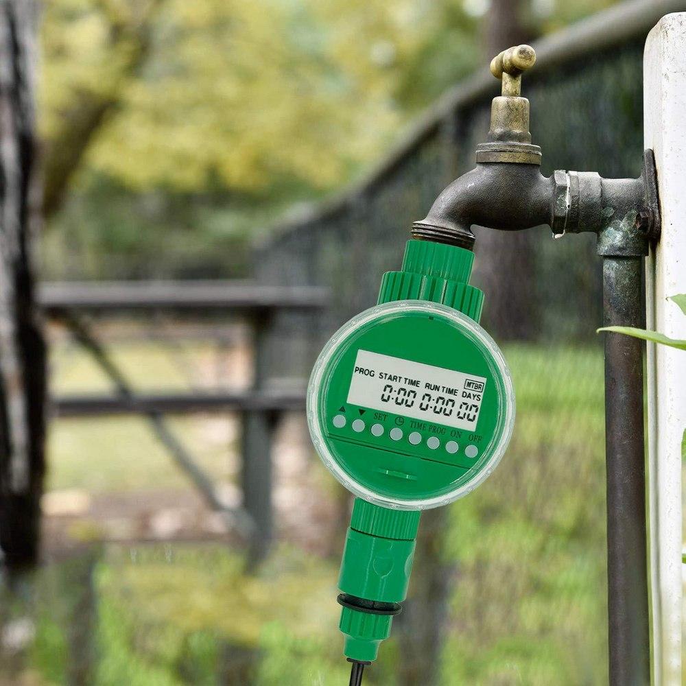 Bewässerung Bewässerung System LCD Display Auto Smart Controller Im Freien Wasserdichte Bewässerung Serie Bewässerung Timer Schlauch Wasserhahn