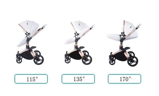 Strollers Baby 3 in 1 Newborn  6