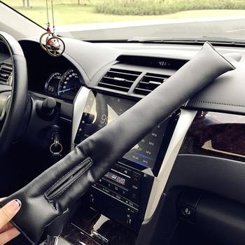 1pcs PU Leather Car Seat Sealing Pad Cover Sewing Pillow Leakage Plug for Subaru Suzuki Toyota Camry Corolla RAV4 Yaris Highland