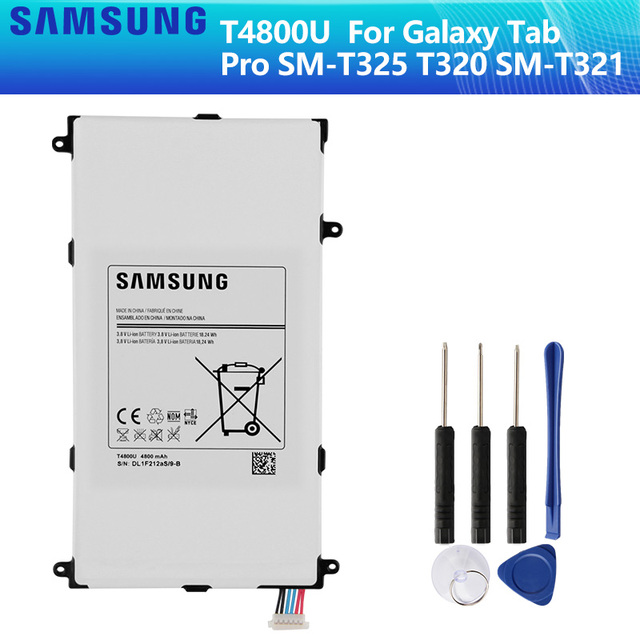 SAMSUNG Original Battery T4800E T4800U T4800C T4800K For Samsung Galaxy Tab Pro 8.4 in SM T321 T325 T320 T321 4800mAh